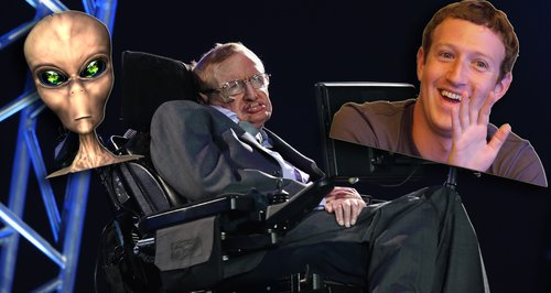 Stephen Hawking and Mark Zuckerberg Are Going Hunt