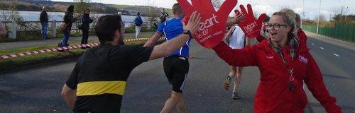 Heart Angels: Plymouth Half Marathon - Cheer Point