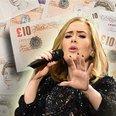 Lewis Hamilton and Adele - Rich List Canvas