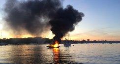 boat explosion Hamble
