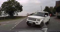 Range Rover Crash CCTV Screengrab