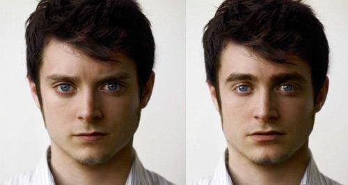 Daniel Radcliffe Eljiah Wood GIF