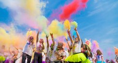 EACH Colour Dash Ipswich 2016