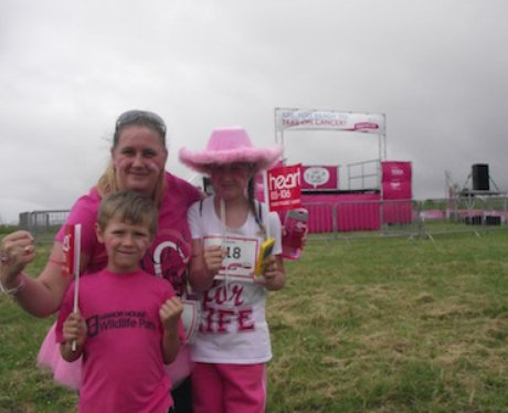 Heart Angels: Llaneli Race for Life (12.06.16)