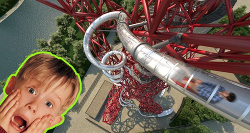 Slide ArcelorMittal Orbit London Olympic Park