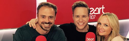 Olly Murs With Jamie And Emma