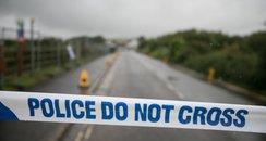 police tape shoreham aircrash