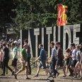 Latitude Festival 2015 sign