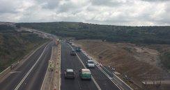 Three lanes open on A30