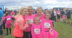 Heart angels: Race for Life - Hartlepool