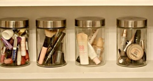 make up jars hack