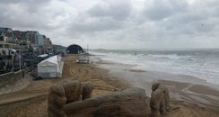 Bournemouth high tide