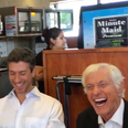 Dick Van Dyke and the Vantastix singing