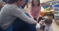 Karen Breslin and children