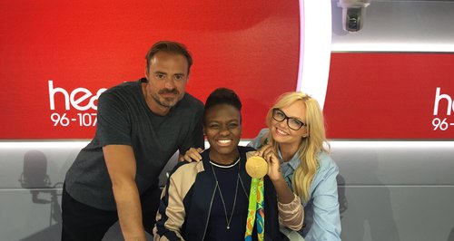 Nicola Adams With Jamie And Emma