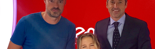 Patrick Dempsey And Renee Zellweger With Jamie The