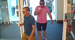 men sought over gatwick burglaries