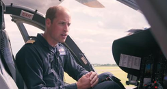 Prince William air ambulance pilot documentary bbc