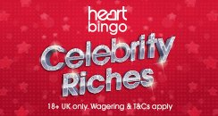 Celebrity riches_heart bingo_244