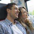 couple, train