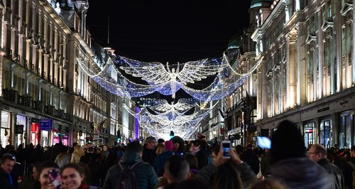 Regent Street Christmas Lights 2016