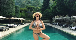 Kelly Brook in Indonesia
