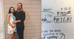 Waiter Gets Extraordinary Tip