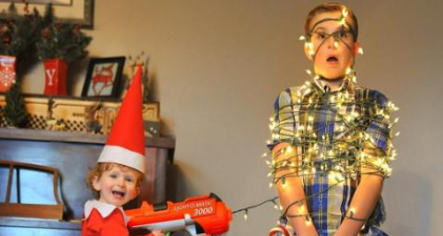 Inventive Dad Turns His Son Into Real Life Elf On