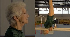 90 Year Old Gymnast