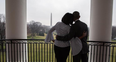 Michelle and Barack Obama take a last tour around
