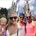 2. Rebecca Adlington Recreates Disneyland Honeymoon Snap With Daughter, Summer