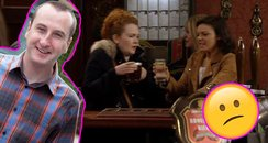 Coronation Street Kirk imposter confused episode
