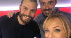 Jamie Dornan With Jamie And Emma
