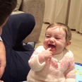 Storyful Baby Laughs Uncontrollably