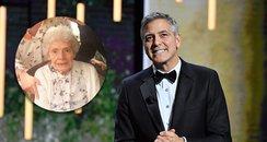 George Clooney surprised fan