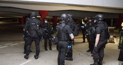 Police exercise at Meadowhall