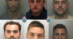 Romanian gang jailed burglaries jewellers