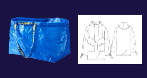 Class for turning ikea bags into clothes