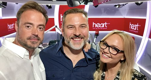 David Walliams With Jamie And Emma