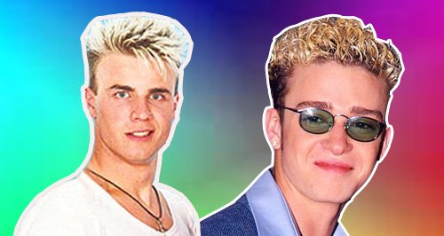 hair justin canvas  frosted tips