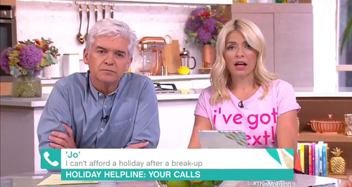 Phillip Schofield & Holly Willoughby This Morning