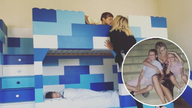 Stacey Solomon Finally Moves Kids Out Her Bedroom After